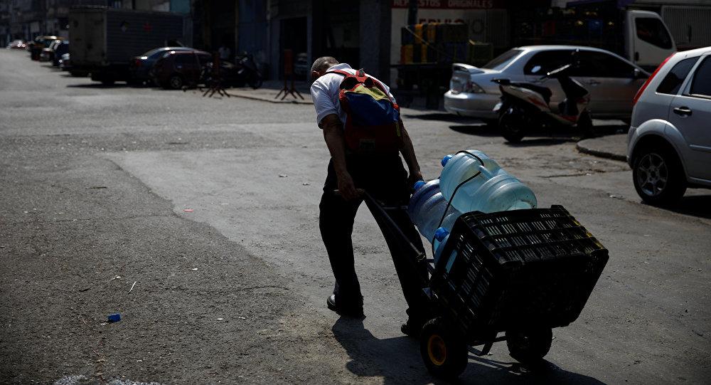 Cese del servicio de agua en Caracas