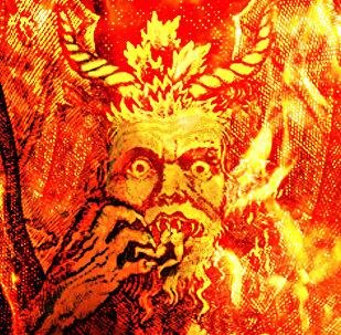 Una ilustración de Satán