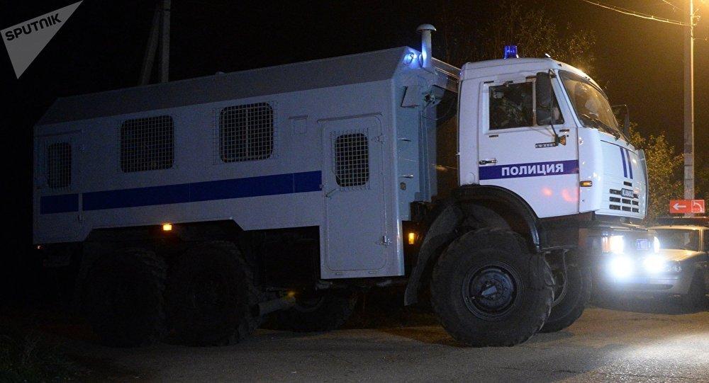 Un vehículo de transporte de prisioneros (archivo)