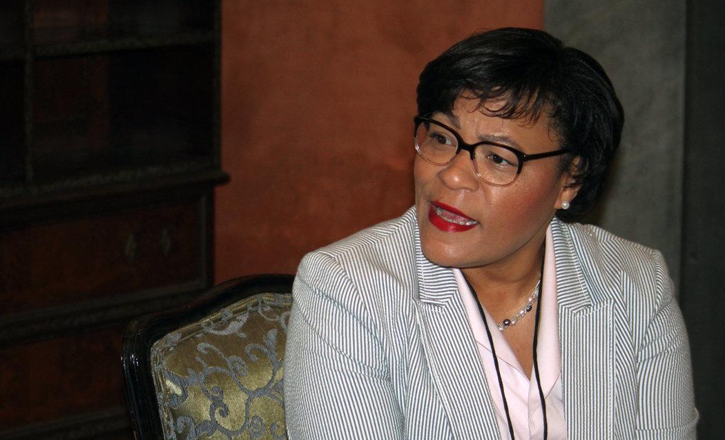 LaToya Cantrell, alcaldesa de la ciudad estadiunidense de Nueva Orlenas, de visita en Cuba