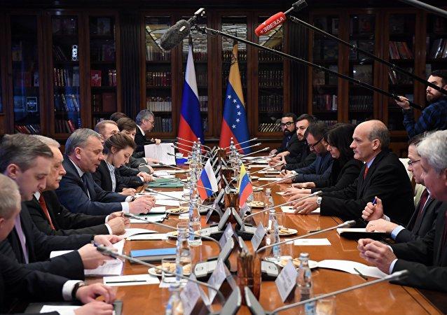 Reunión de la Comisión Intergubernamental de Alto Nivel (CIAN) de Venezuela y Rusia