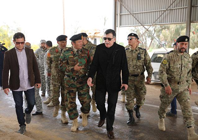 Fayez Sarraj, jefe del Gobierno de Unidad Nacional de Libia (archivo)