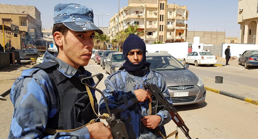 Combatientes del ejército de Jalifa Haftar (archivo)