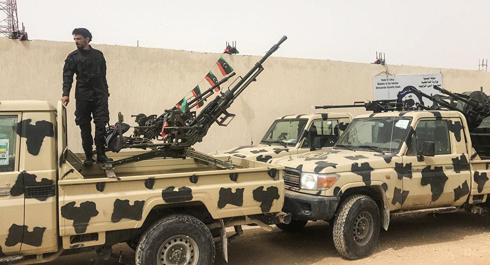 Militares bajo el mando del Gobierno en Tripoli