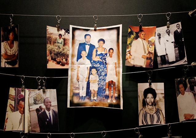Las fotos de las víctimas del genocidio de Ruanda