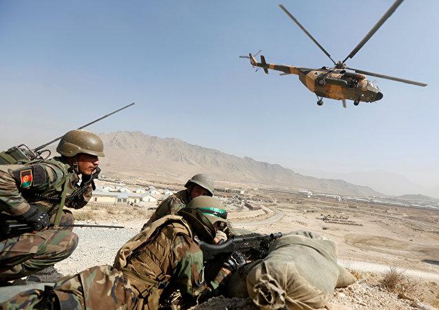 Militares de Afganistán