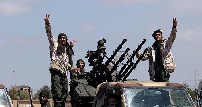 Soldados del Ejército de Jalifa Haftar (archivo)