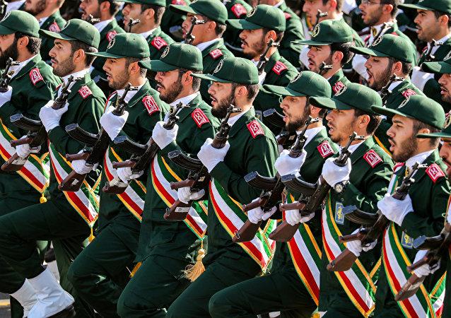 La Guardia Revolucionaria de Irán (archivo)