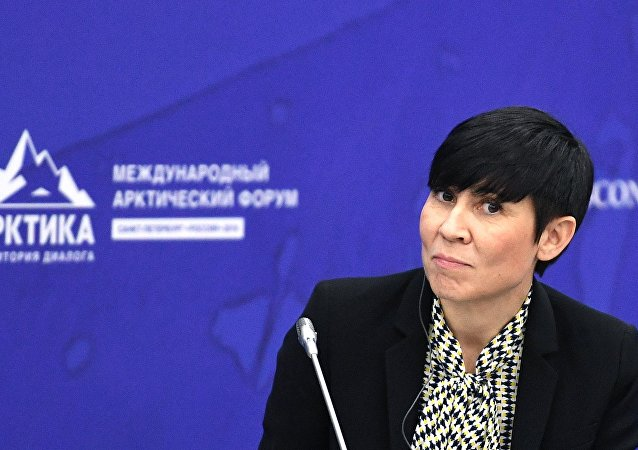 Ine Marie Eriksen Soreide, ministra de Exteriores de Noruega