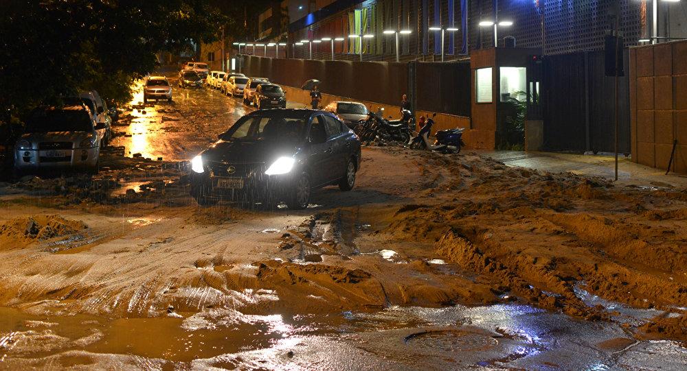 Tres muertos a causa de las lluvias en Río de Janeiro