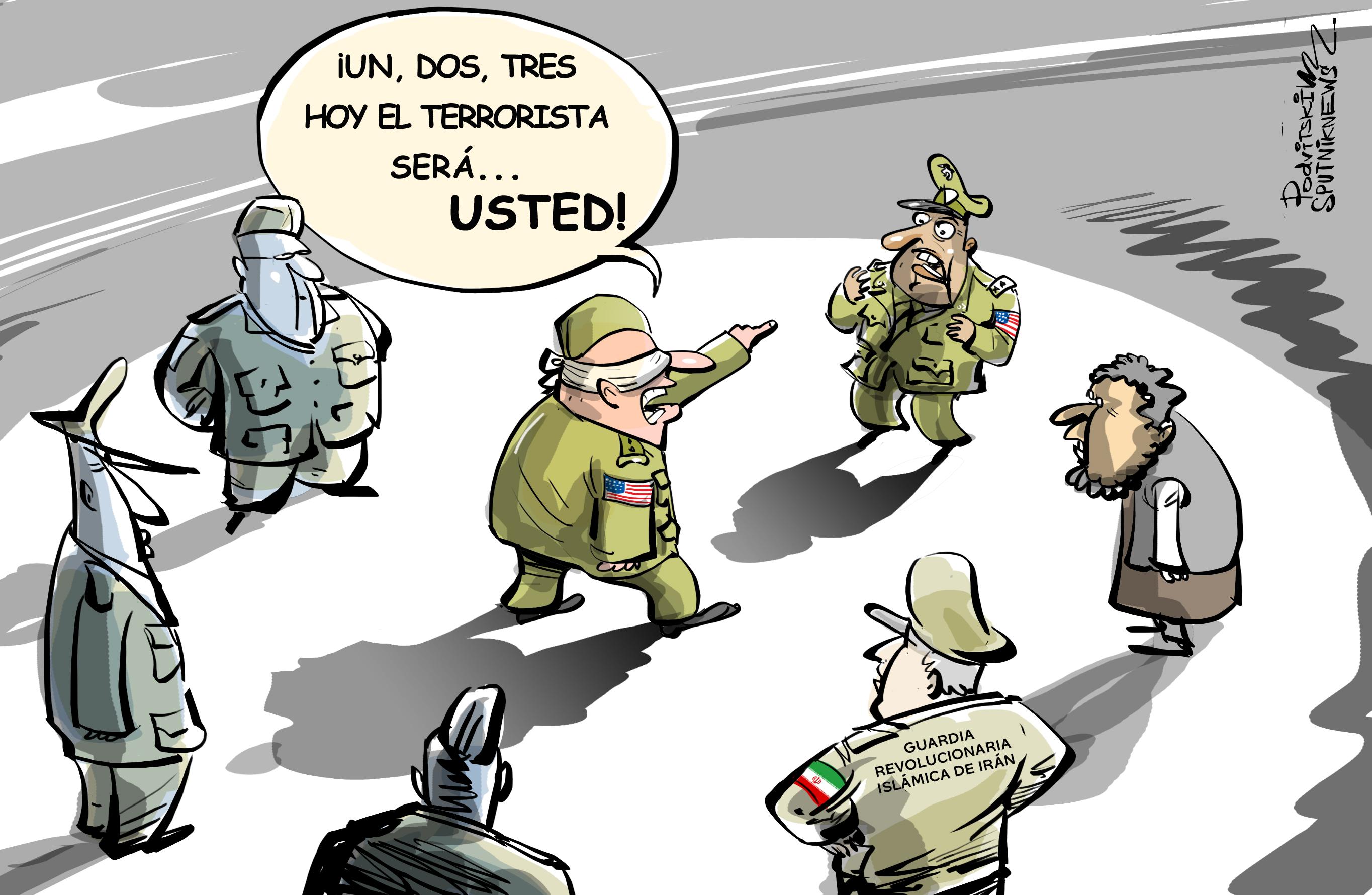 Mando Central de EEUU, ¿un grupo terrorista?