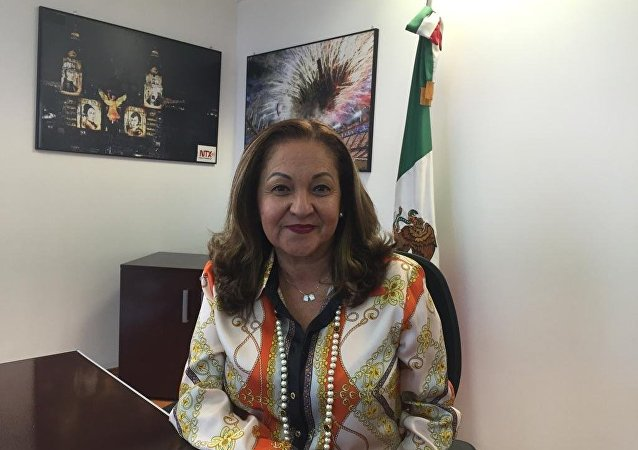 Sanjuana Martínez Montemayor, directora de la agencia de noticias del Estado mexicano