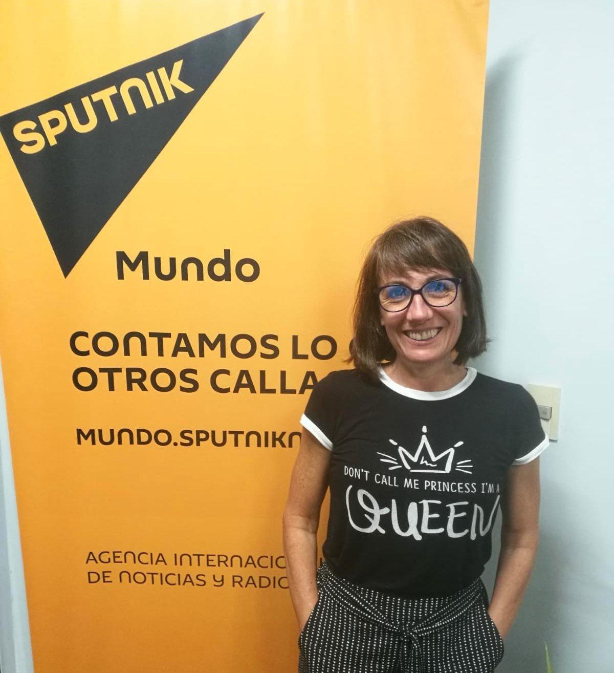 Diana Cariboni, periodista. Ganadora del Premio Nacional de Prensa Escrita 2018 de Uruguay.