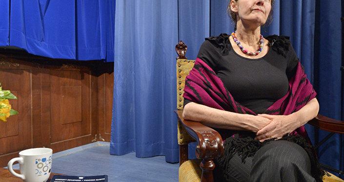 Christine Assange, la madre de Julian Assange, fundador de la web de filtraciones WikiLeaks
