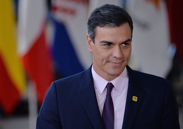 Pedro Sánchez, el presidente del Gobierno de España en funciones