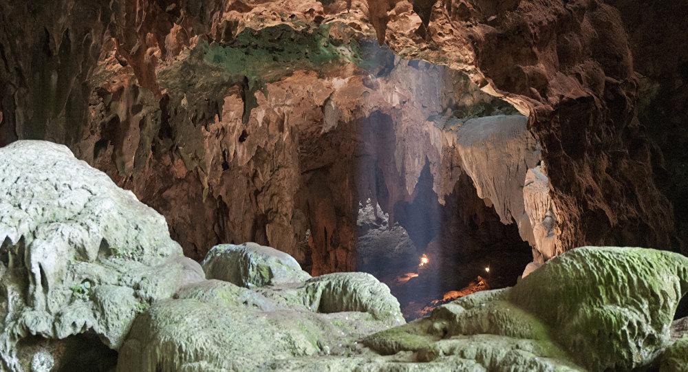 Cueva del Callao en la isla de Luzón (Filipinas), donde se descubrieron los fósiles de 'Homo luzonensis'