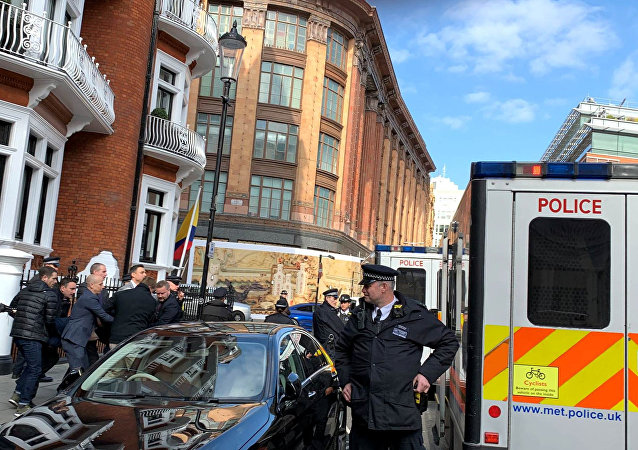 Arresto de Julian Assange