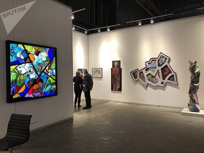 Este año, la crisis argentina pegó también en ArteBA; la exposición cuenta con menos despliegue que otras ediciones