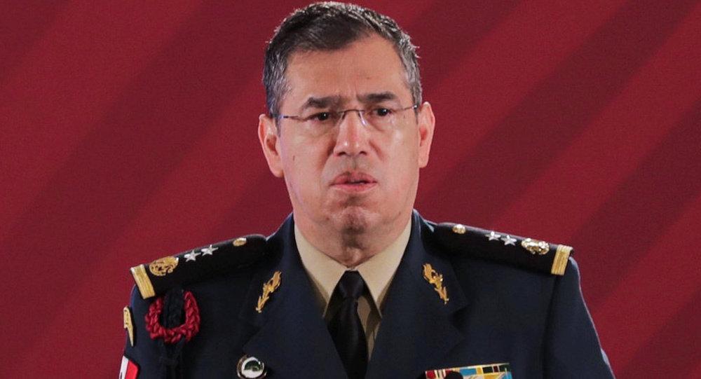 El general Luis Rodríguez Bucio, comandante de la Guardia Nacional de México