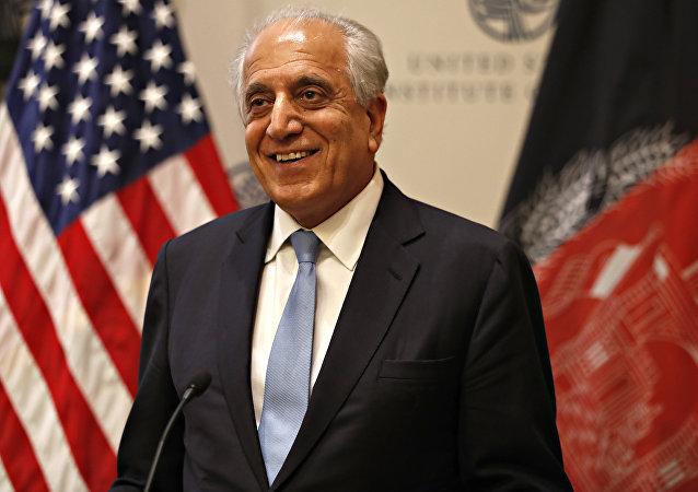 Zalmay Khalilzad, enviado especial de EEUU para Afganistán