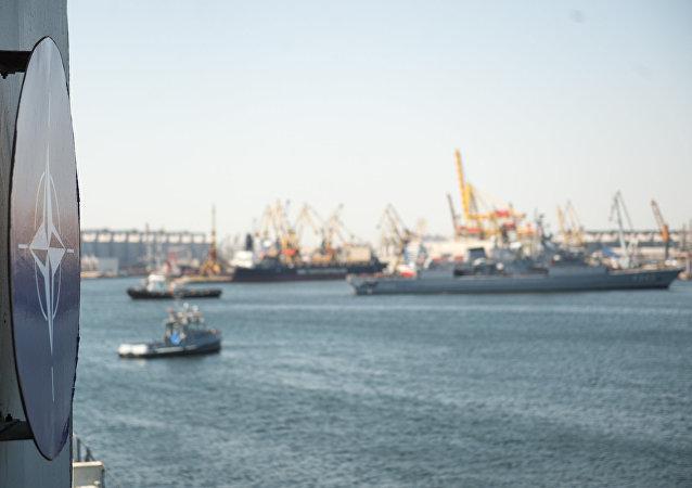 Maniobras navales de la OTAN en el mar Negro (archivo)