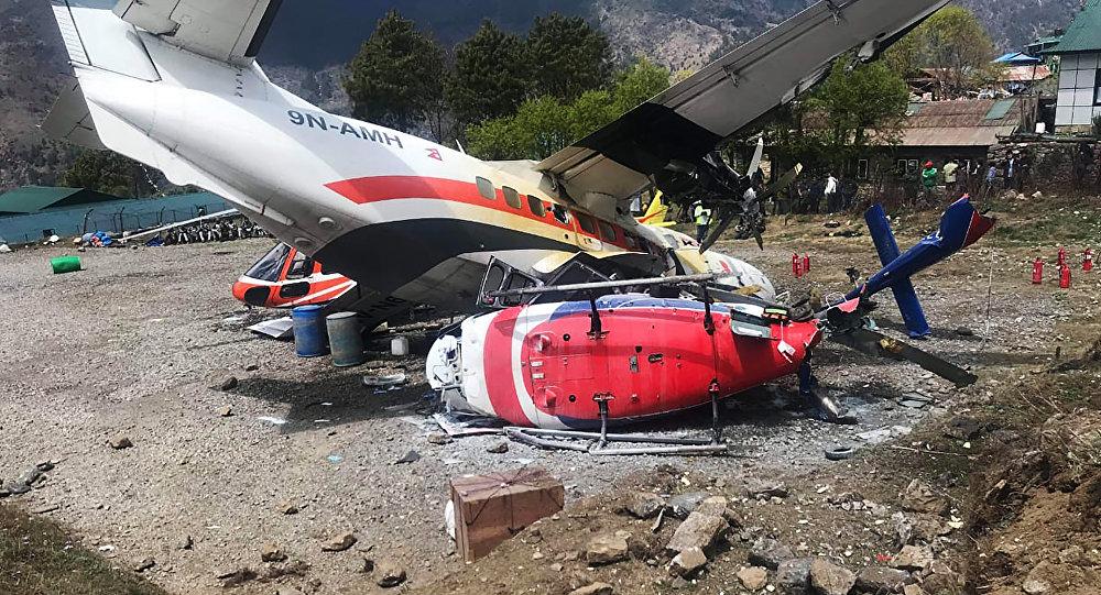 Incidente aéreo en el aeropuerto de Katmandú, Nepal