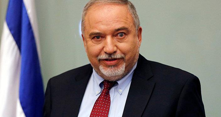 Avigdor Lieberman, político israelí, exministro de Defensa (archivo)