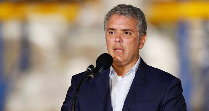 Iván Duque, presidente de Colombia