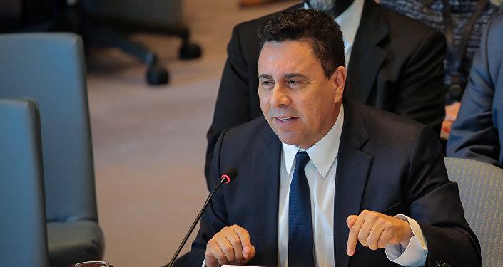 Samuel Moncada, representante de Venezuela ante las Naciones Unidas