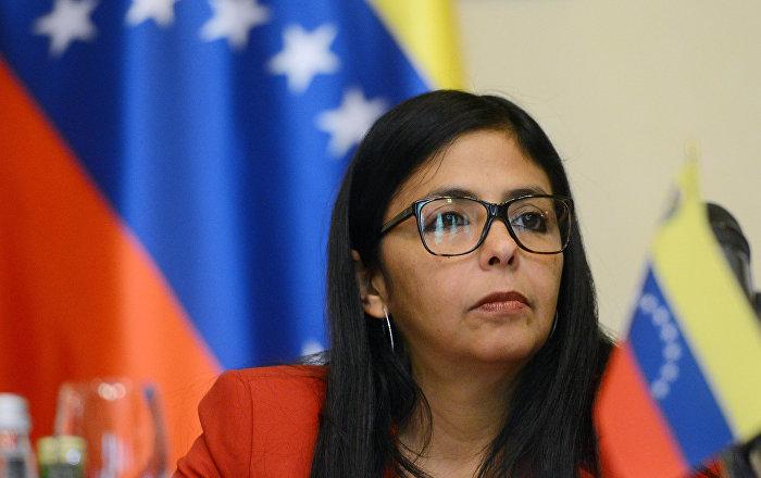 Delcy Rodríguez: Rusia y Venezuela están en club contra intervencionismo