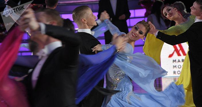 El Campeonato Europeo de Baile Deportivo Latino entre profesionales