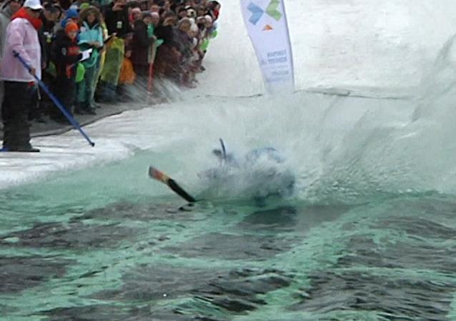 El arte de esquiar como nunca lo habías visto