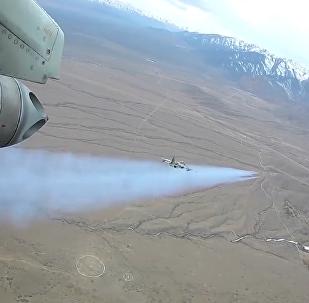 Blancos detectados: los Su-25SM rusos participan en unas cautivadoras maniobras