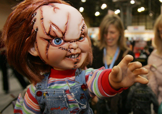El muñeco Chucky, foto de archivo