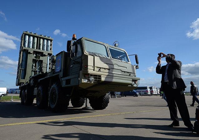 El sistema de defensa antiaérea S-350