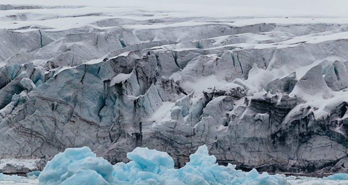 El archipiélago de Svalbard, océano Glacial Ártico