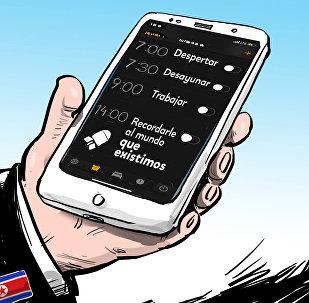 Una manera decidida de Corea del Norte de recordarle al mundo que existe