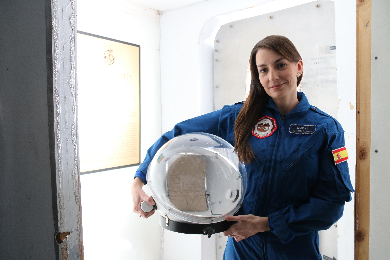 Natalia Larrea, de las Mars Society