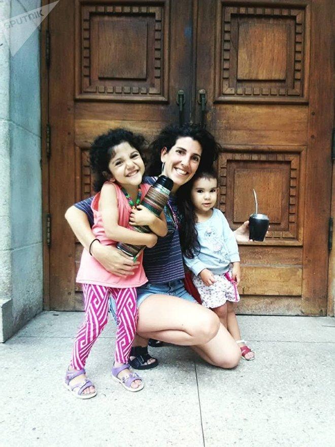 Sofía llegó de Uruguay a Venezuela con algunos prejuicios, que rápidamente derribó al experimentar el día a día de Caracas