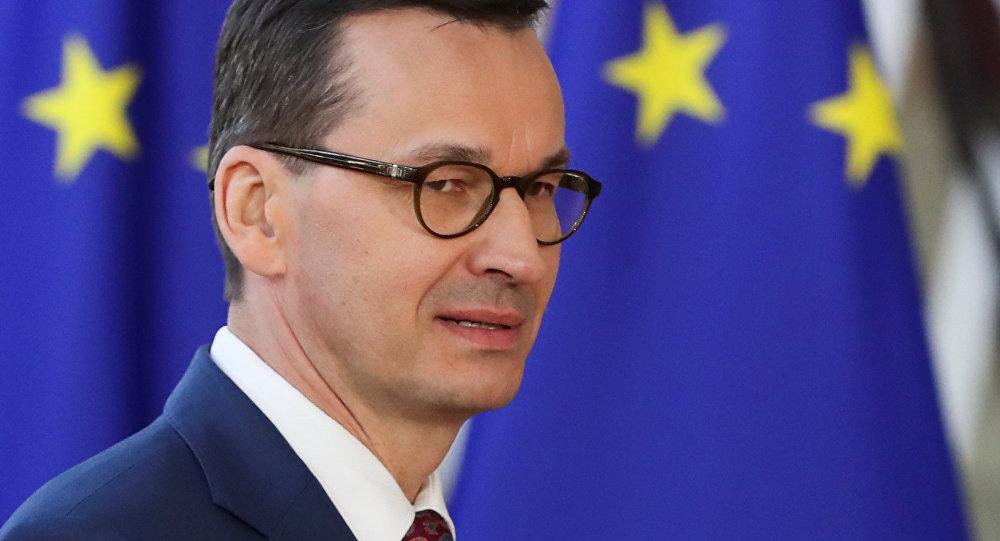 Mateusz Morawiecki, primer ministro de Polonia