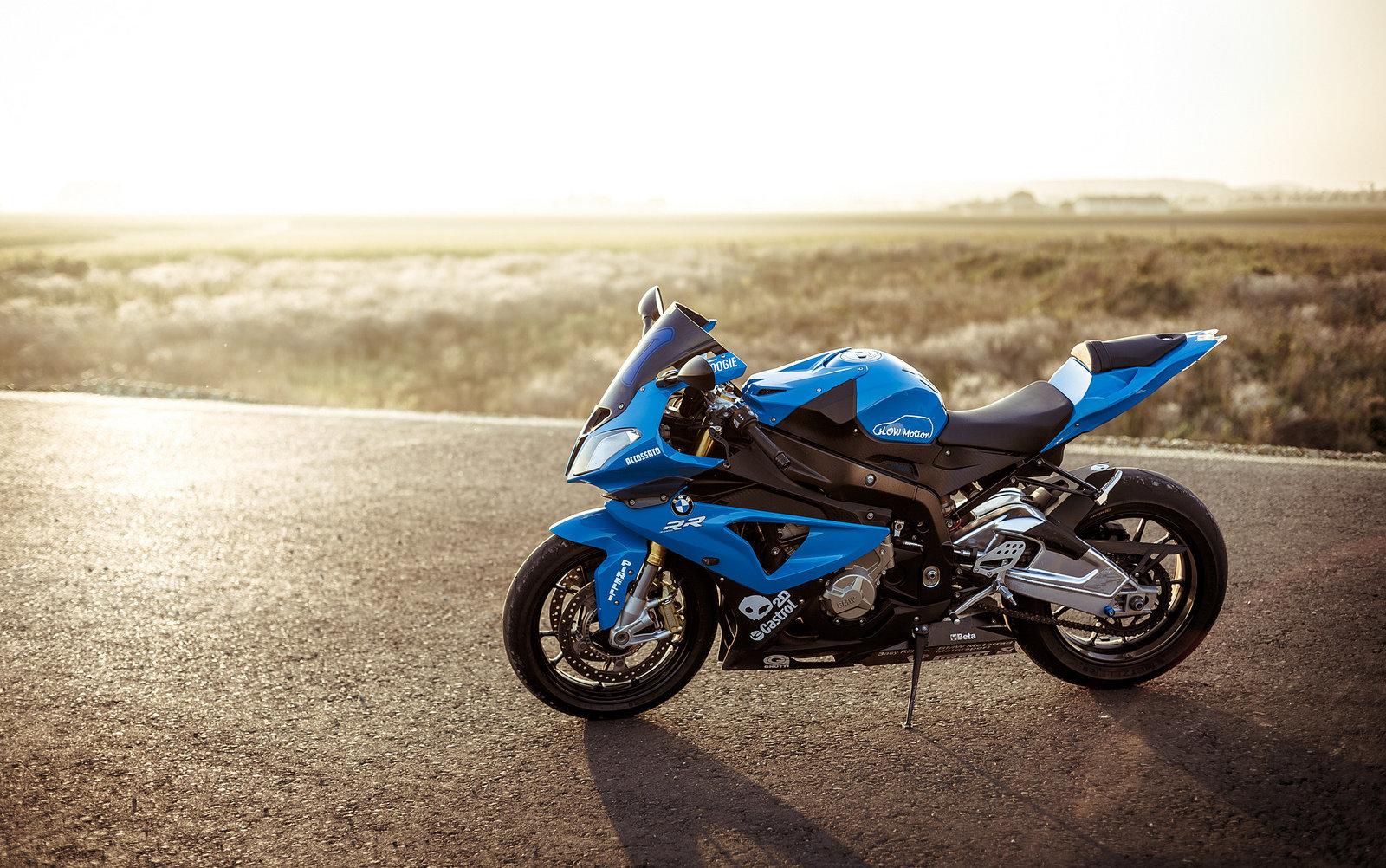 La motocicleta de BMW (imagen ilustrativa)