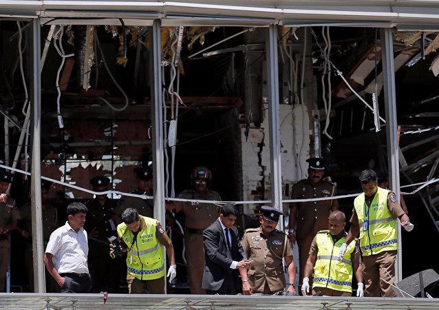 Consecuencias de las explosiones en Sri Lanka