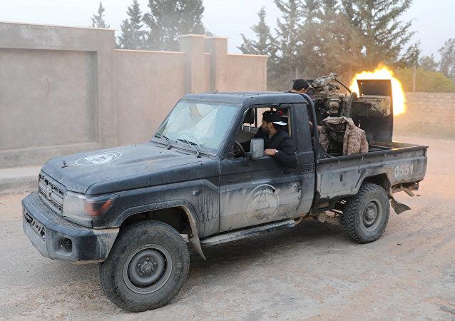 Combates en Trípoli, Libia