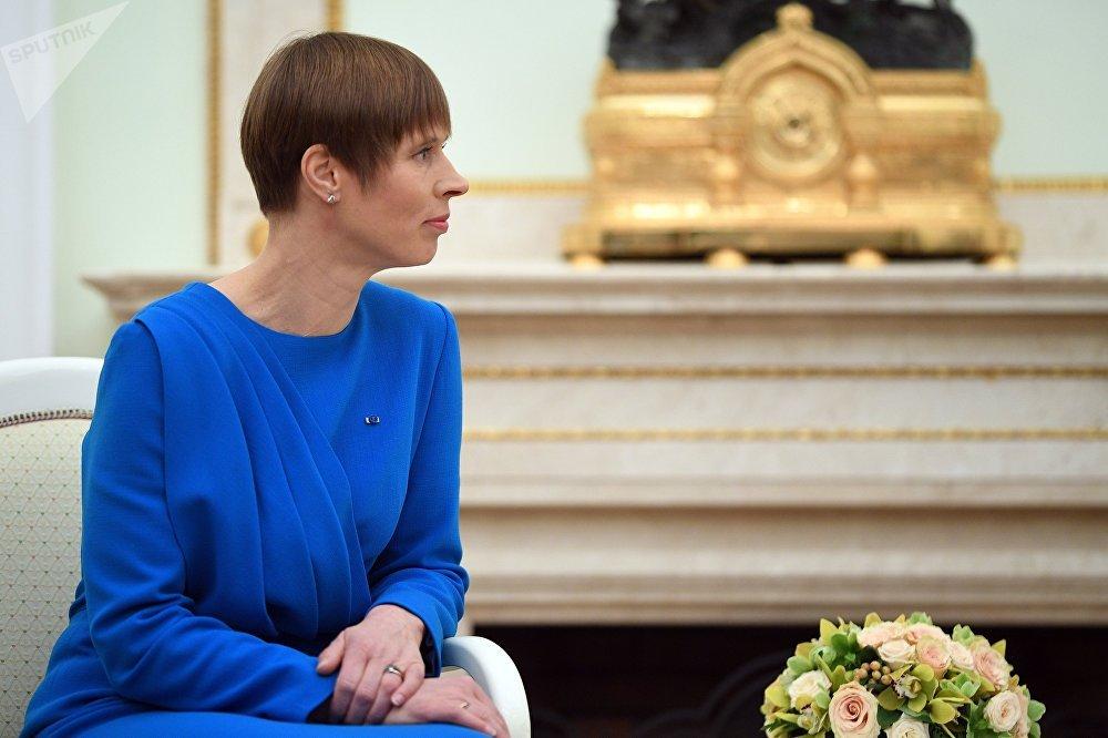 Kersti Kaljulaid, presidenta de Estonia (49 años)