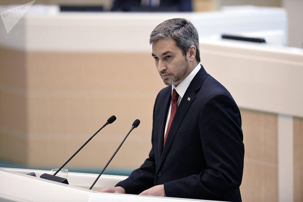 Mario Abdo Benítez, presidente de Paraguay (47 años)