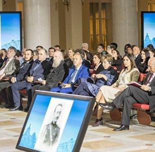 Conmemoración del general ruso-paraguayo Iván Belaieff