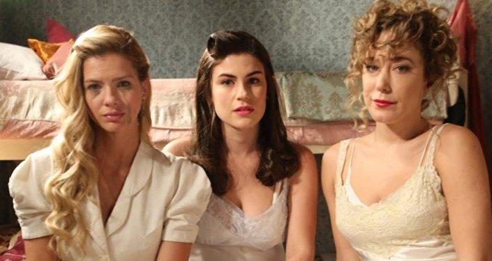 Actrices argentinas, protagonistas de la telenovela Argentina, tierra de amor y venganza
