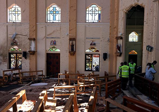 Consecuencias del atentado en Sri Lanka