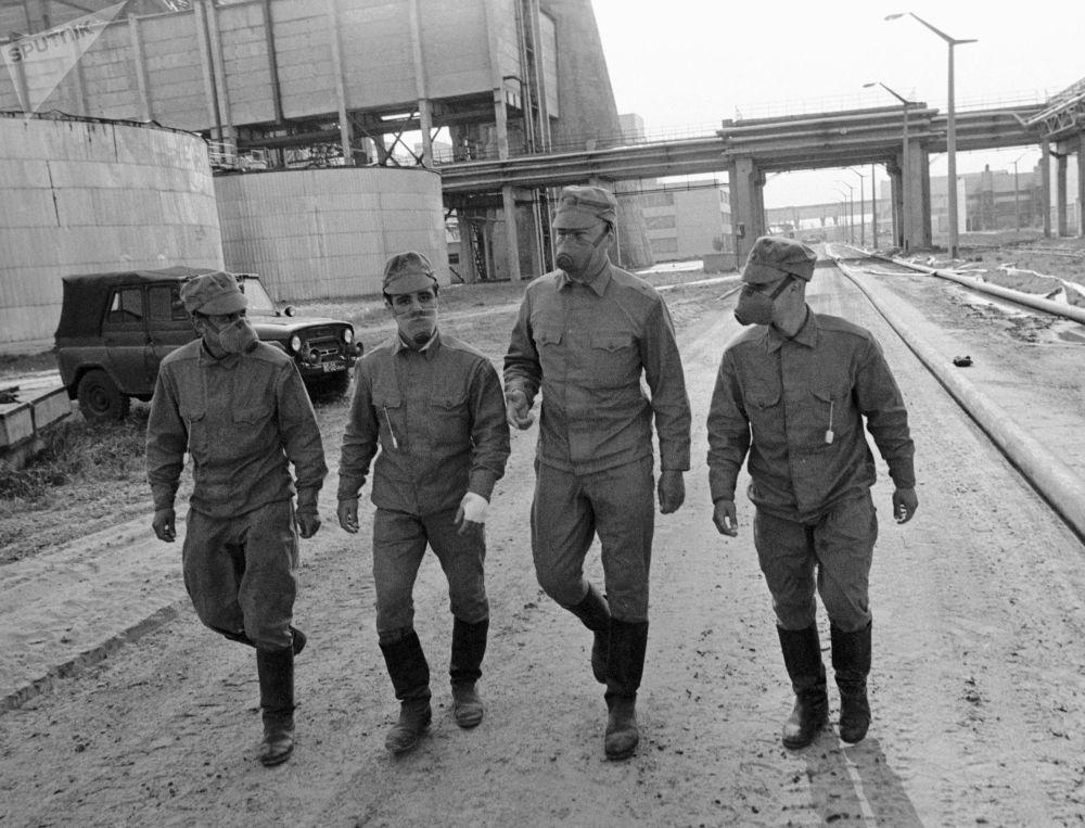 Chernóbil: primeras horas y días después de la catástrofe