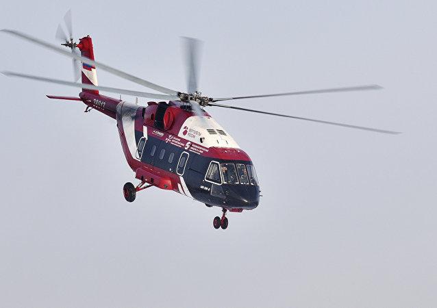 Un helicóptero Mi-38 (imagen referencial)